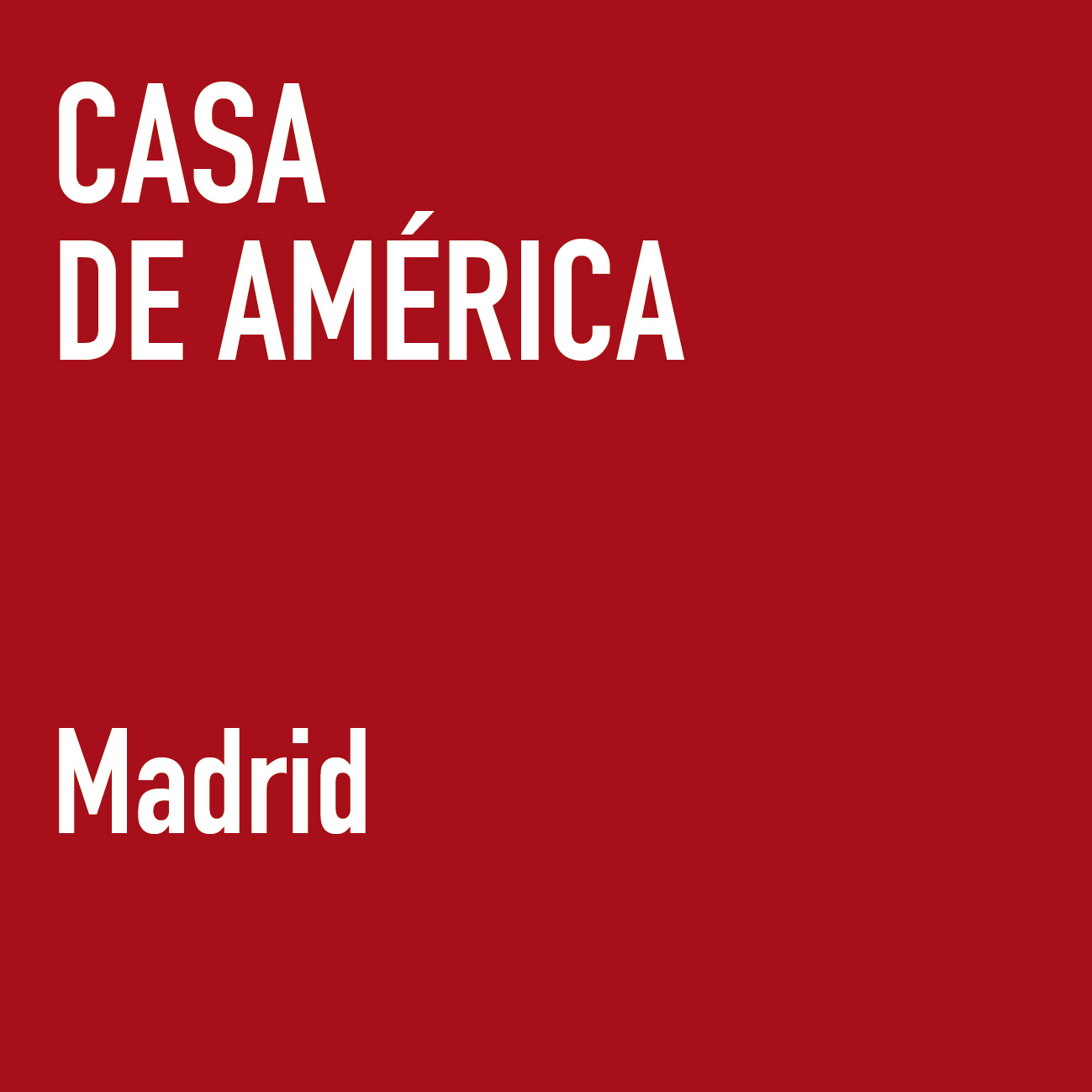 PLACES CASA DE AMERICA MADRID